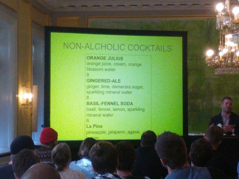 Non-Alcoholic Cocktails